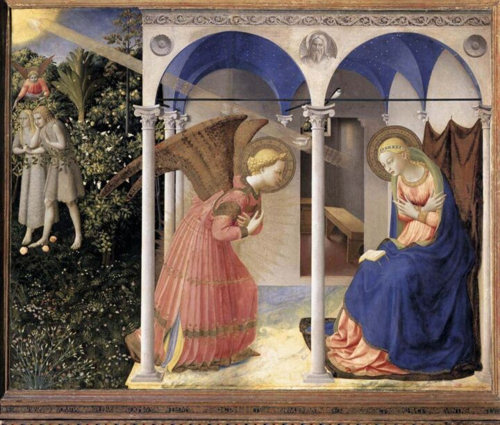 Sacred Art in Spain Fra Angelico The Annunciation