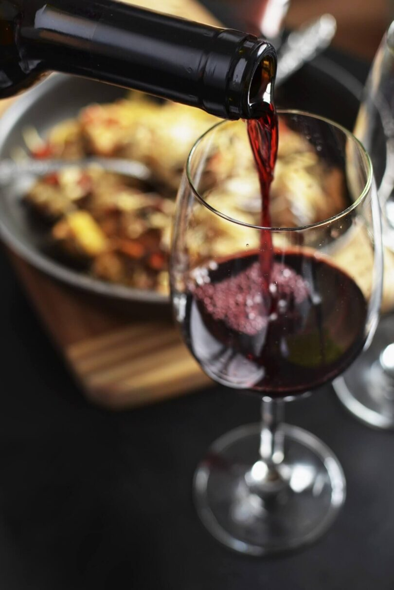Wine Pour with Dinner Insiders Travel