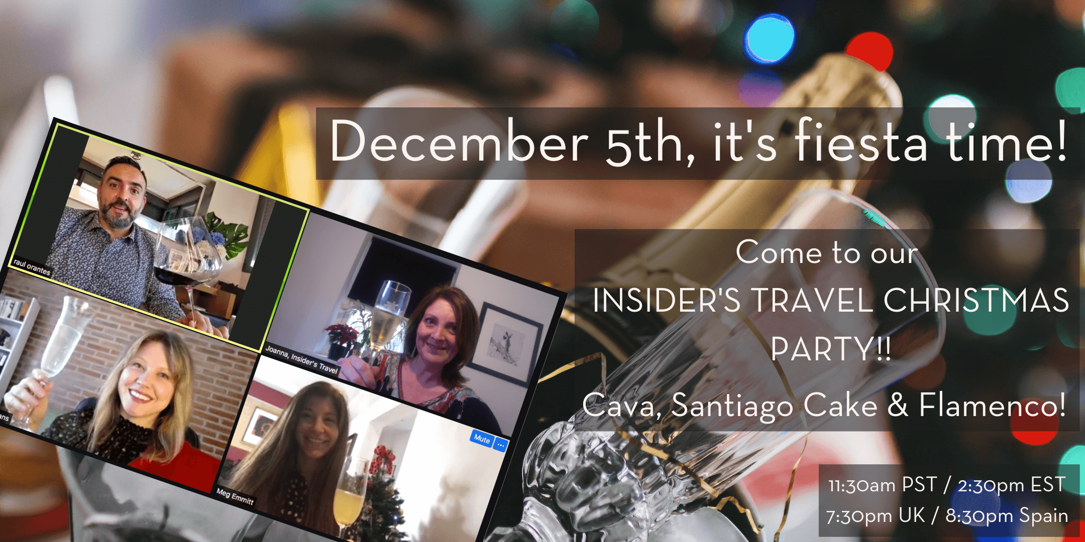 Insider's Travel Christmas Party