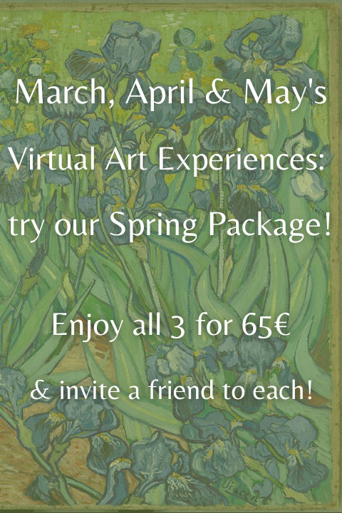 Online Experiences Spring Package Art
