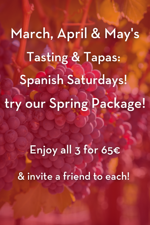 Online Experiences Spring Package Tasting and Tapas